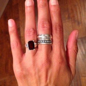 melinda shop now - James Avery Wedding Rings