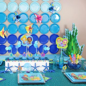 Bubble Guppies Paper Dessert Plates - Discontinued