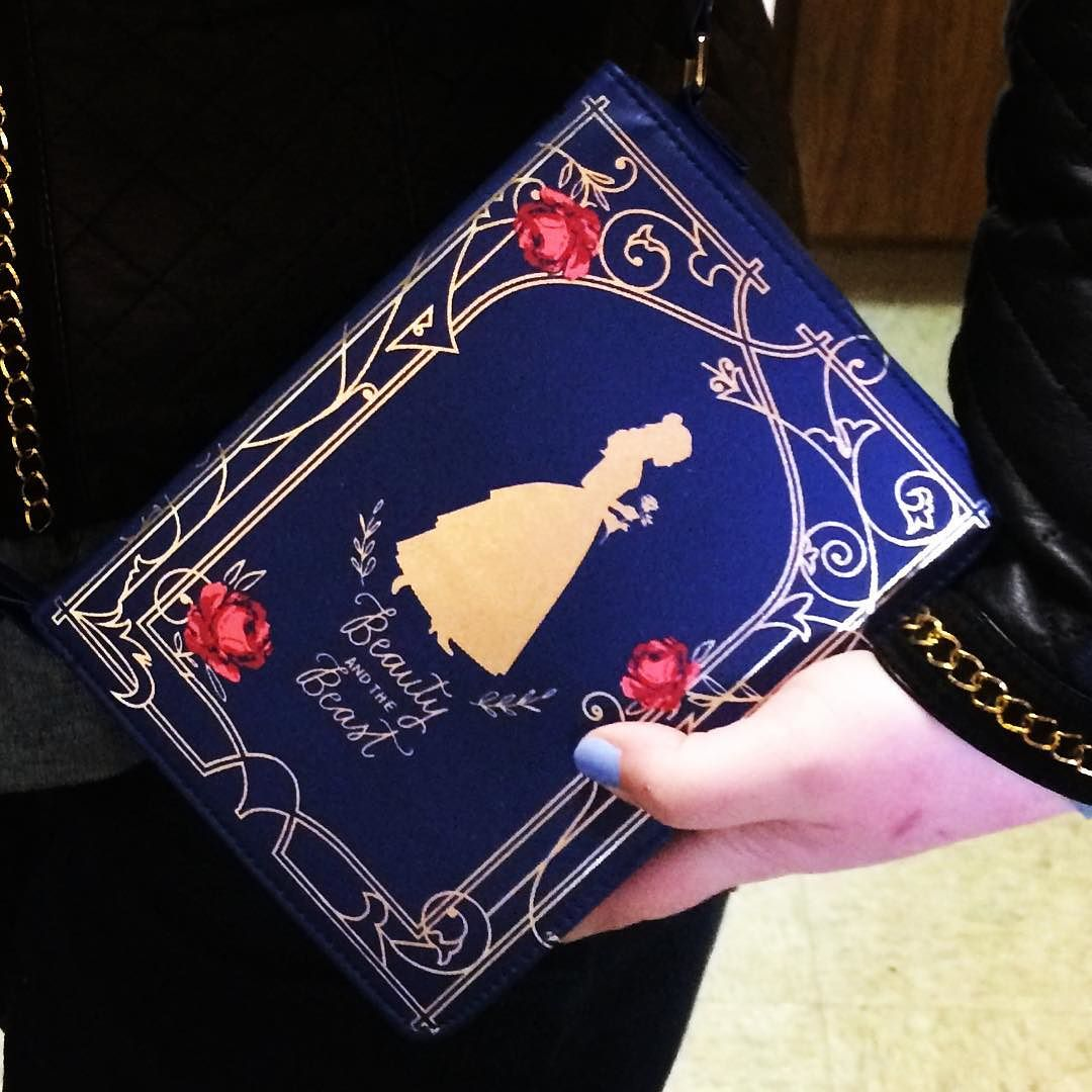 Girls' Disney Beauty and the Beast Book Purse