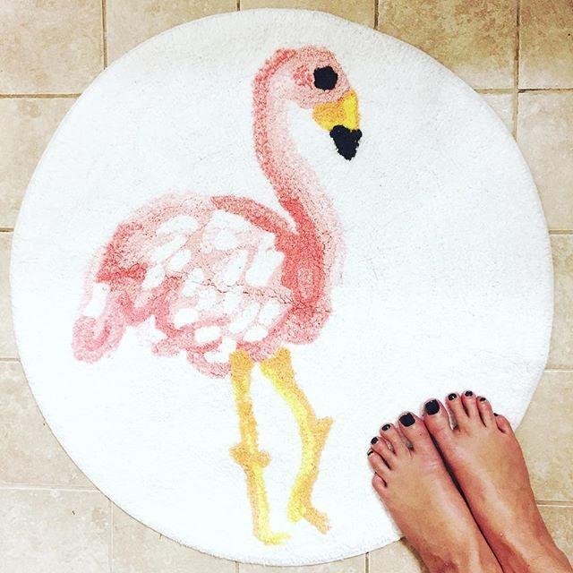 Flamingo Bath Rug Multicolored Pillowfort Target