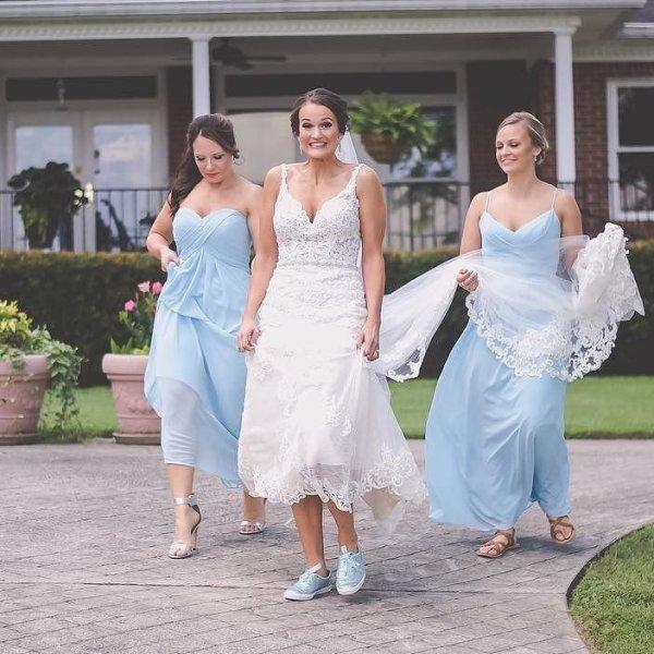 Wedding Sneakers Tennis Shoes