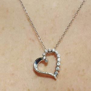 Kay necklaces from his heart to mine everykissbeginswithkay heartnecklace aloadofball Gallery