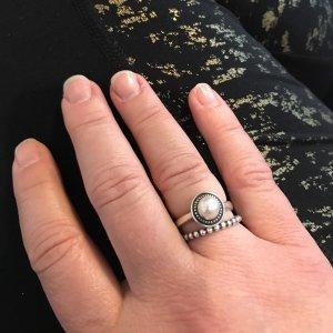 love my pearl ring - James Avery Wedding Rings
