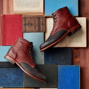 The Bison boot is handmade in Michigan and exclusive to Wolverine.com.
