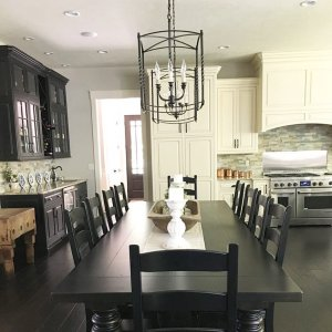 kitchen and dining area design crossword. I thought cleared a few piles of clutter off my table today  but European Inspired Home Furnishings Ballard Designs