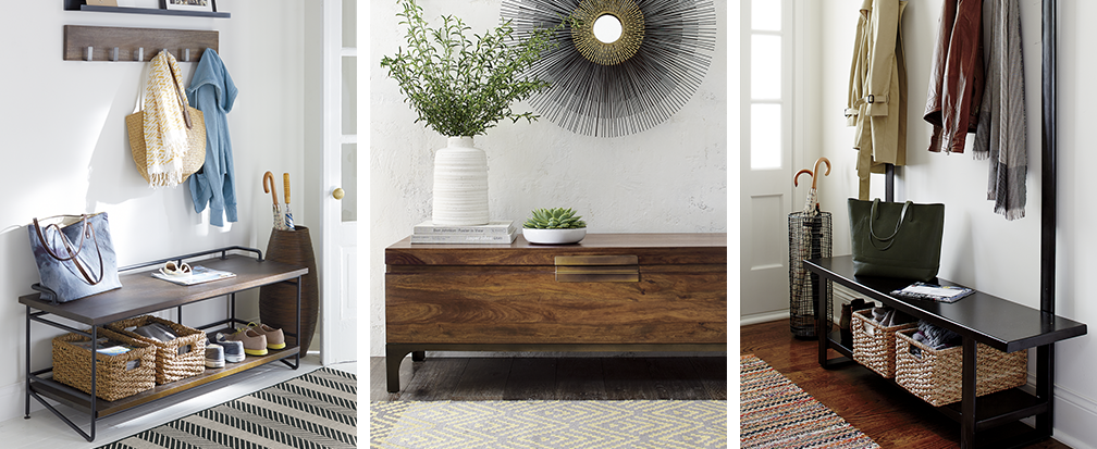 Foyer Office Quote : Entryway ideas crate and barrel