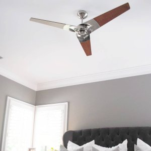 Torsion ceiling fan by modern fan company at lumens we have a winner swatchpopxlumens giveaway for 500 towards a ceiling fan aloadofball Image collections