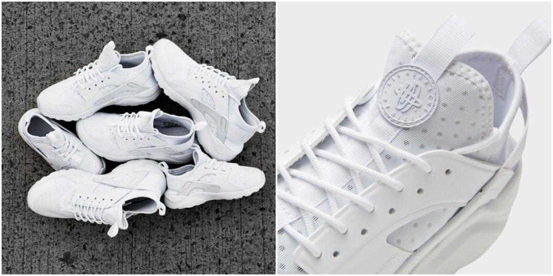 Nike Air Huarache Ultra Breathe Triple White