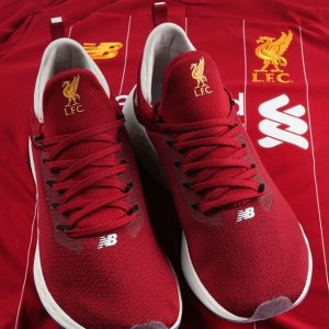 7a7ffbeeef7 Always a Red 🔴🔴 The @nbfootball Liverpool LAZR Running Shoes are still  available in