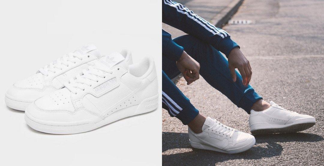 Scarpe bianche: adidas Continental 80