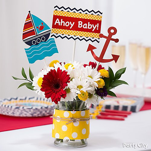 Nautical Baby Shower Ideas Party City