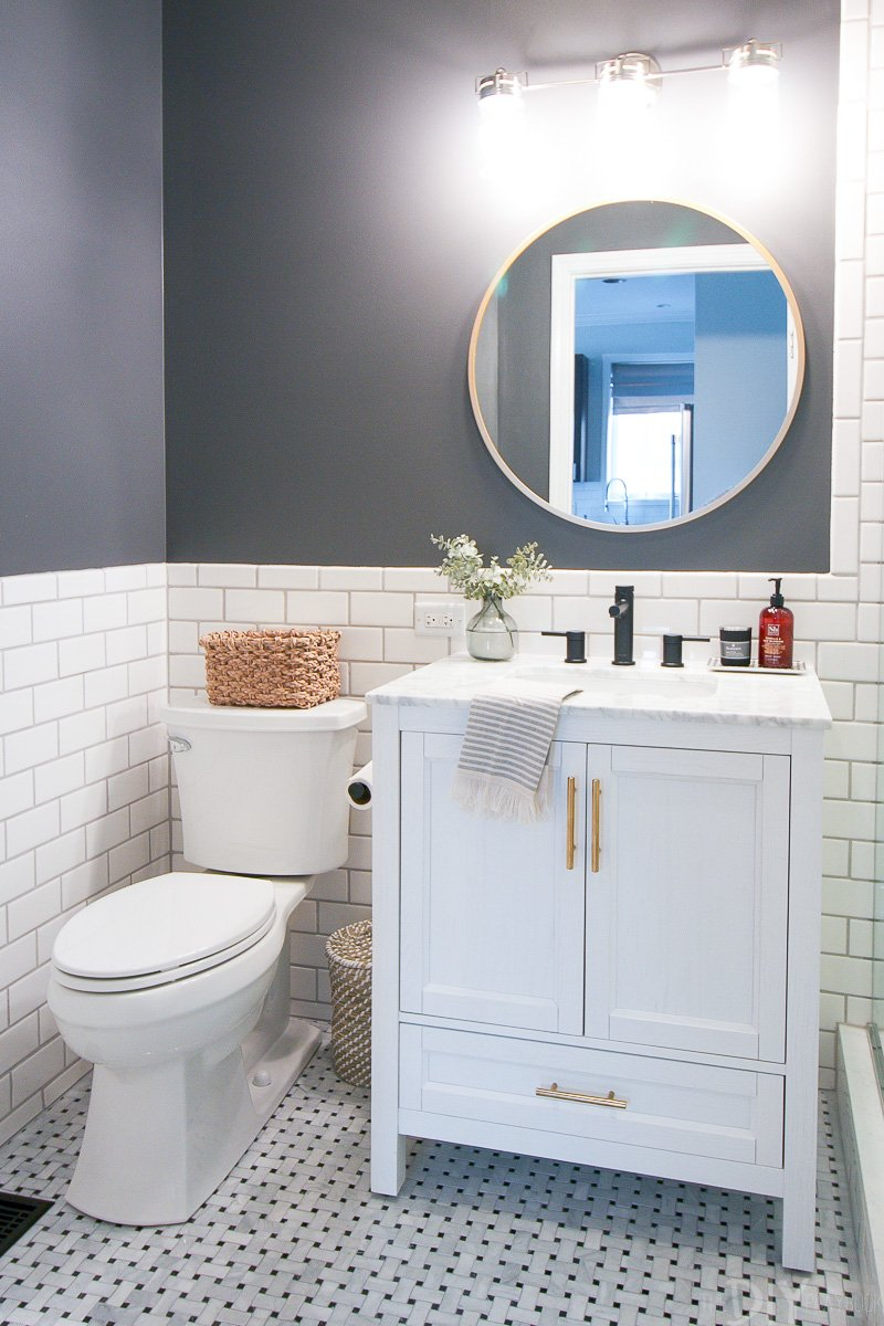 Revealing Our Diy Bathroom Makeover The Diy Playbook