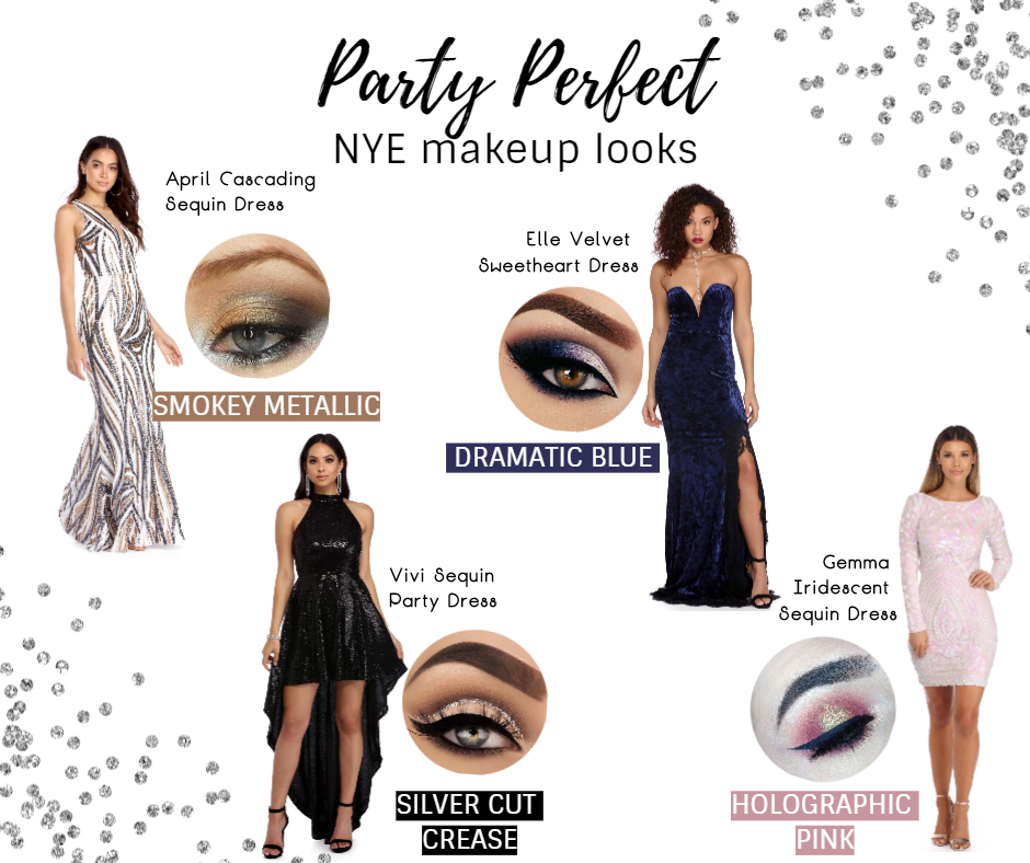 Party Perfect NYE Makeup Looks
