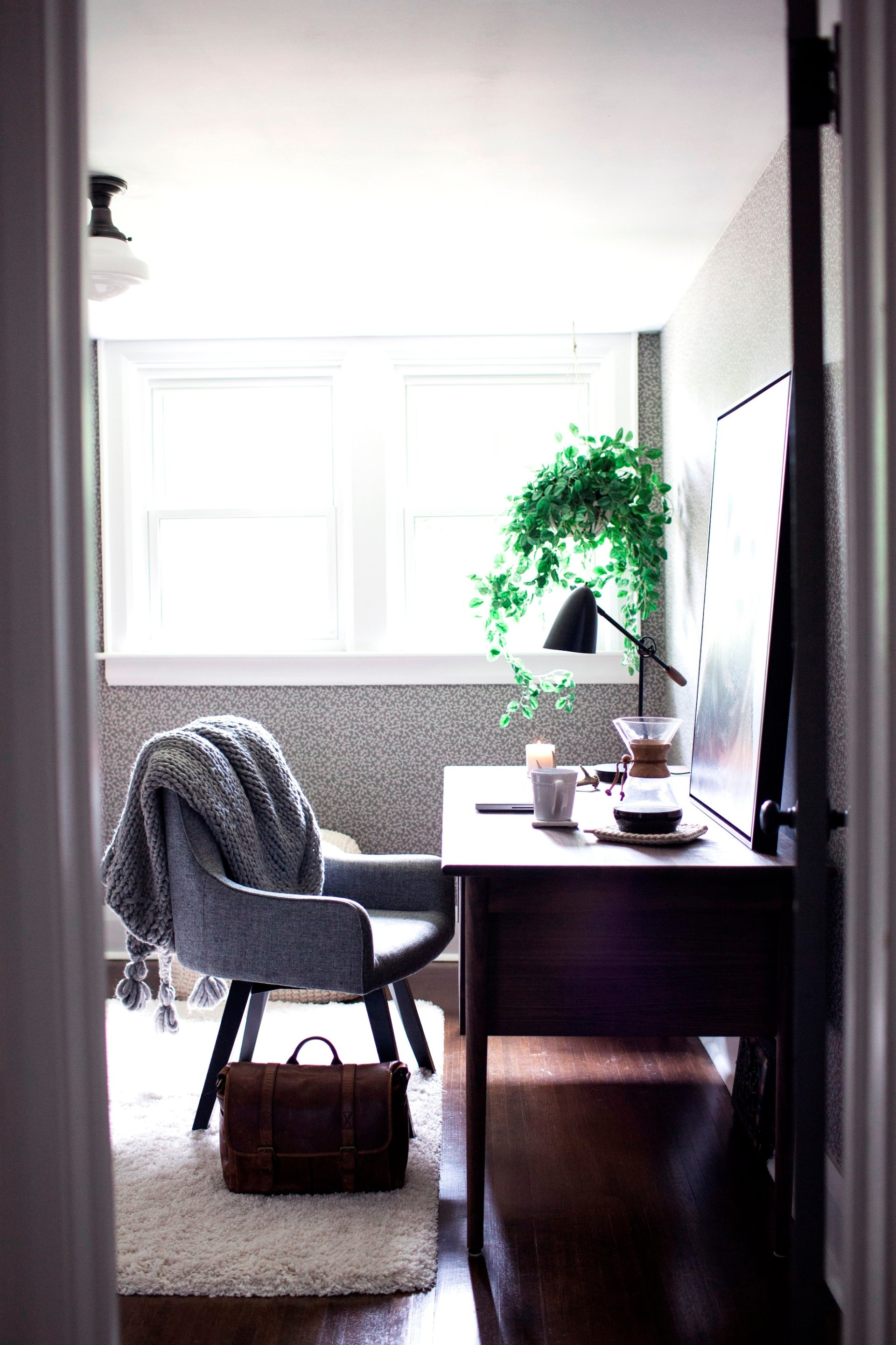 Hygge Ideas for the Home Office | Crate and Barrel Blog