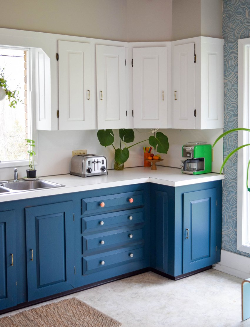 Before & After: A Dreary Kitchen Gets A Bright Makeover for Spring ...