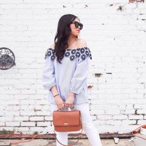 Modern Skinny Jeans in White | LOFT