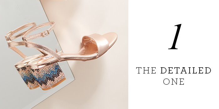d6bc1c1c709dec MARBLE - Embellished Chevron Block Heel Sandal £51.00