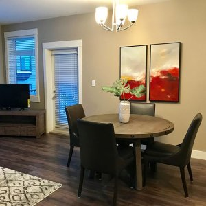 Kamloops Condo Done Fully Furnished And Decorated For My Client Thanks To The Folks