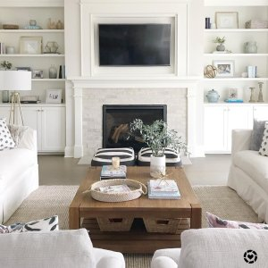 Furniture Living Room Design. Anyone else horrible at swapping out pictures in frames  I was doing some shelfie Room Inspiration Home Decorating Ideas Crate and Barrel
