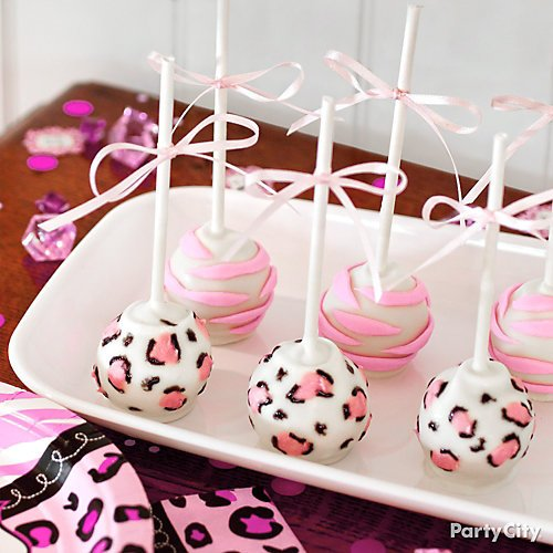 Pink Safari Girl\'s Baby Shower Ideas | Party City