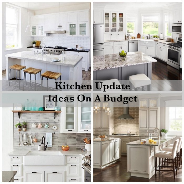 How to update your kitchen on a budget shabbyfufu for Update my kitchen on a budget