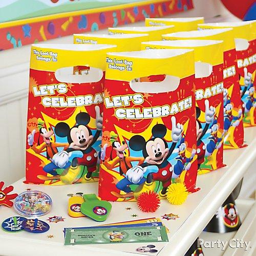 Tremendous Mickey Mouse Birthday Party Ideas Party City Funny Birthday Cards Online Hendilapandamsfinfo