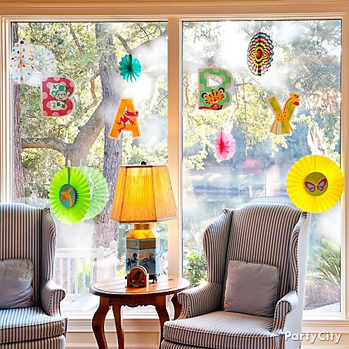 Curated image with Fisher-Price Jungle Baby Shower Paper Fan Decorations 6ct, Fisher-Price Jungle...