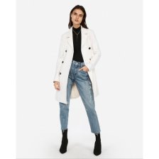 Shop Belted Wool Blend Trench Coat and more