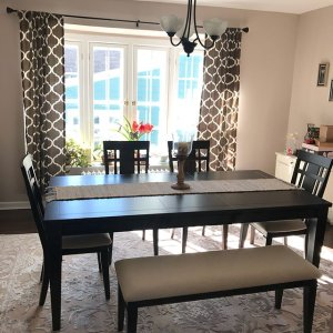 Our New Dining Room Set Engaged Bestshowergift Bride2018 Raymourandflanigan