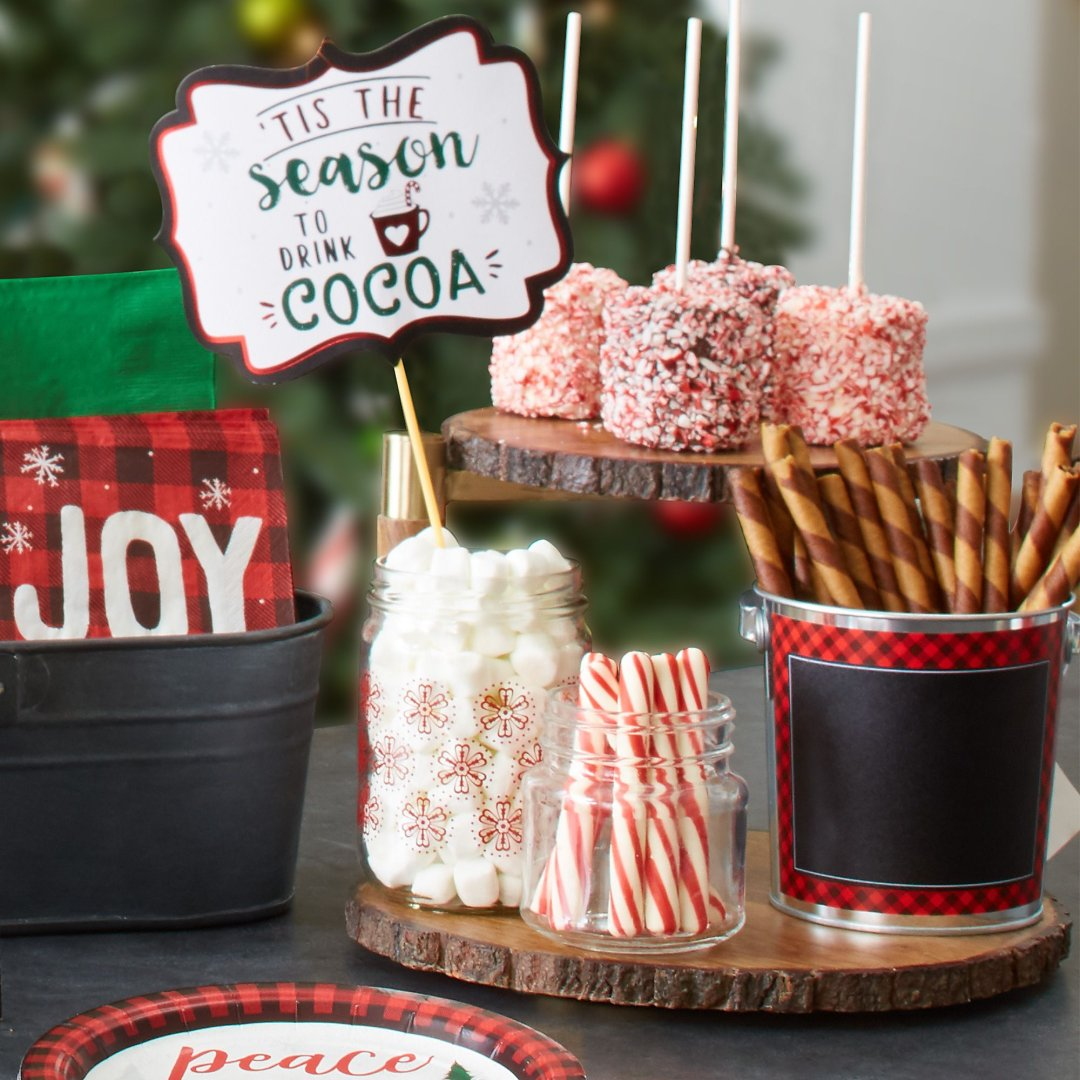 Hot Chocolate Station Ideas Party City