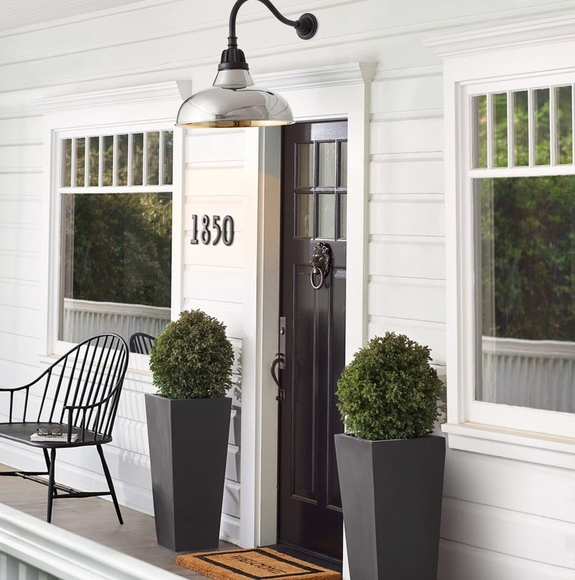3 ways to style your front porch
