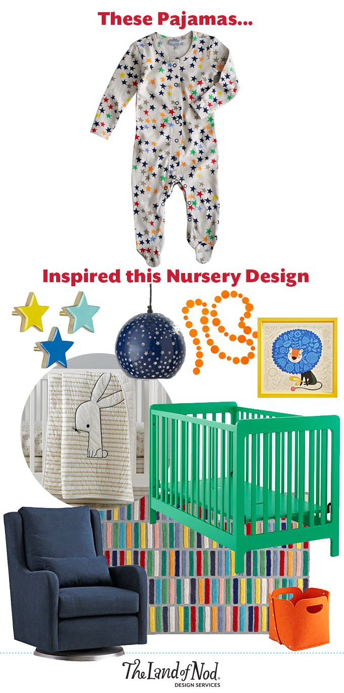 From Inspiration to Nursery: Star PJ's