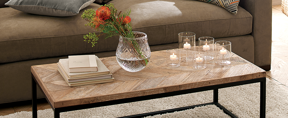 how to style a coffee table | crate and barrel