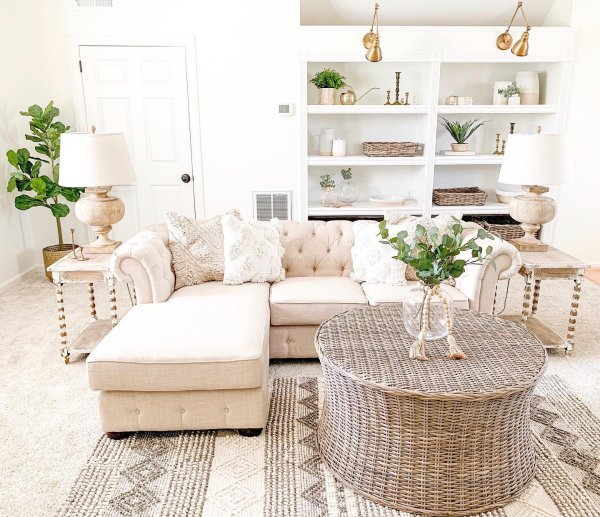 plants eclectic instagram-post boho dining-room 2
