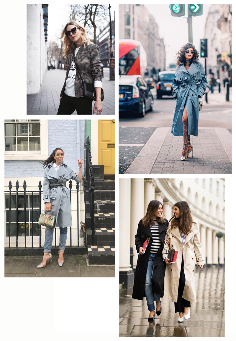 LFW - bloggers outfits