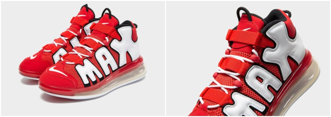 Nike Air More Uptempo 720 'University Red'