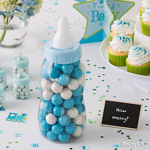Blue Safari Boys Baby Shower Ideas Party City