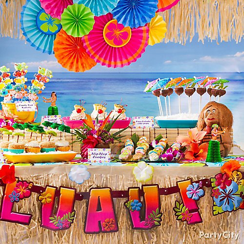 Sweet Ideas for Luau Cupcakes & Party Treats | Party City
