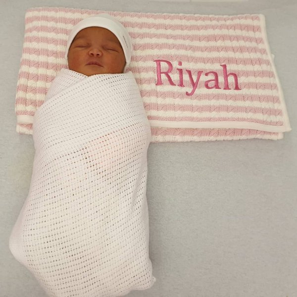 Hi My Name Is Riyah I Was Born On Wednesday 26th December 2018