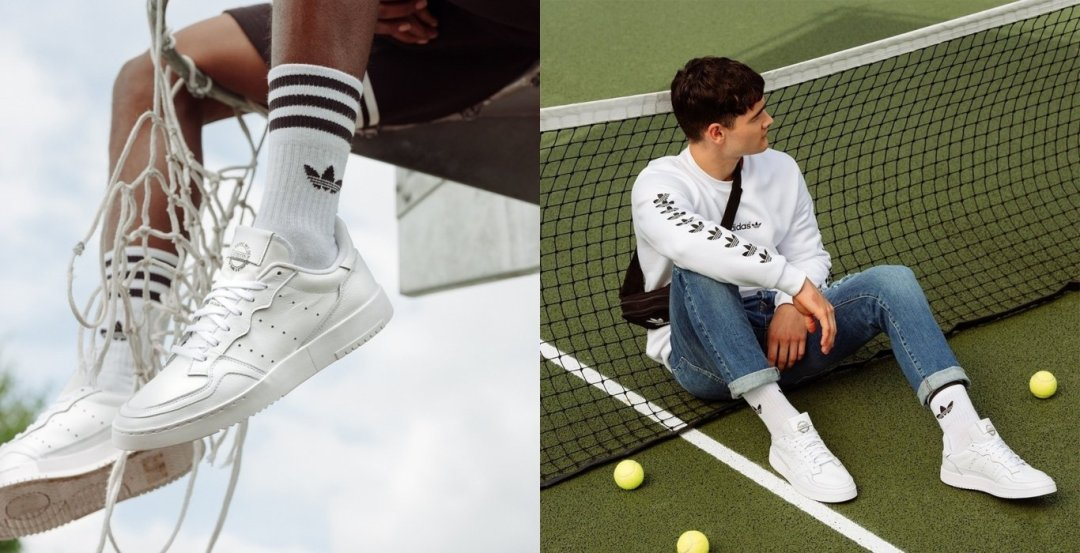adidas Originals Supercourt Triple White