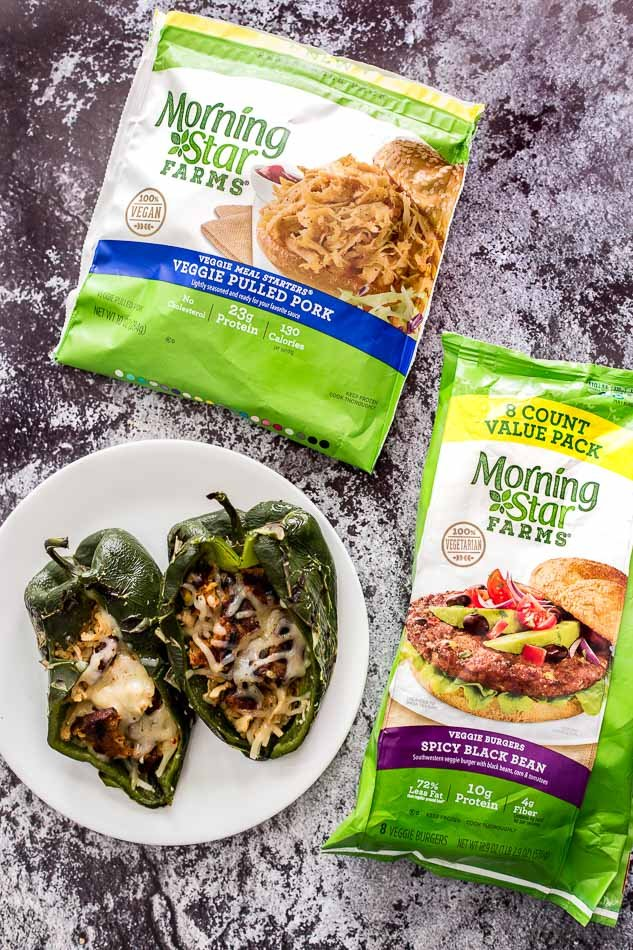 Shop MorningStar Farms® Veggie Pulled Pork, MorningStar Farms® Spicy Black Bean Burger Value Pack and more