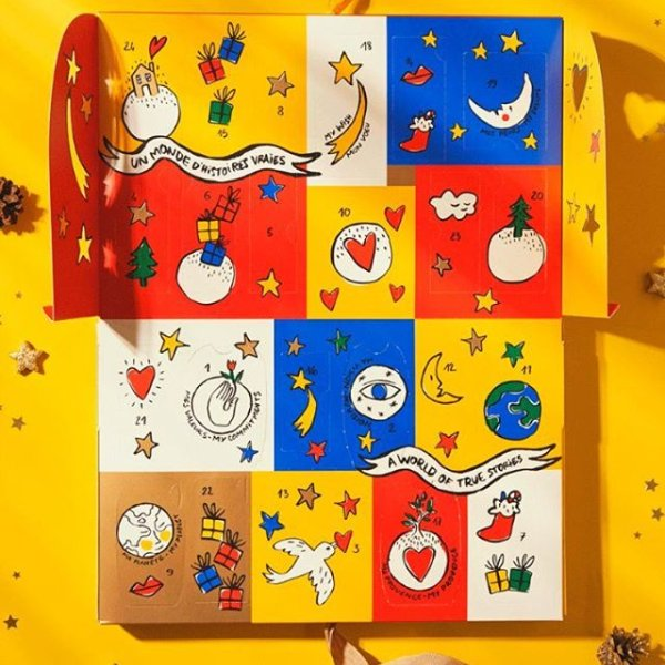 It's nearly Christmas... Our Calendar of Dreams has a lot of ✨ inside its little doors! #LOccitane #NotJustAGift #HolidayCalendar