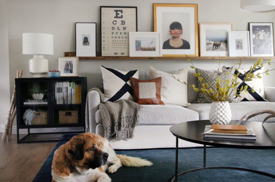 how to layer fall into your living room crate and barrel blog