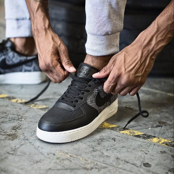 nike Air Force 1 07 LV8 in Anthracite Black Summit White. Get.  footasylum 6a2efacf33ef