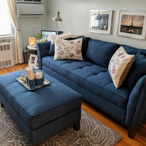 uncomfortable couch super cool from dreary bulky and uncomfortable to elegant streamlined bouncy thrilled give macauley sofa santa rosa denim raymour flanigan