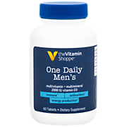 Shop the Vitamin Shoppe One Daily Men's Multivitamin & Multimineral with Vitamin D3 (60 Tablets) and more