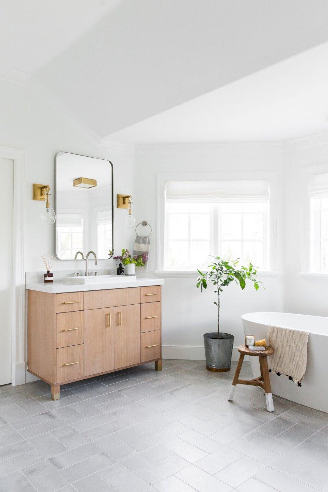 Crisp & Modern Master Bathroom Remodel — STUDIO MCGEE