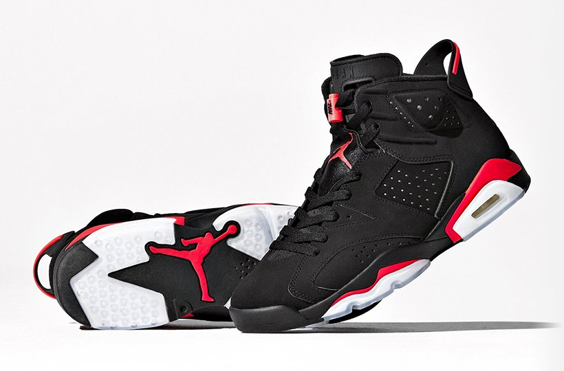 new product 41bab 28ee9 Launch: Air Jordan 6 Black/Infrared