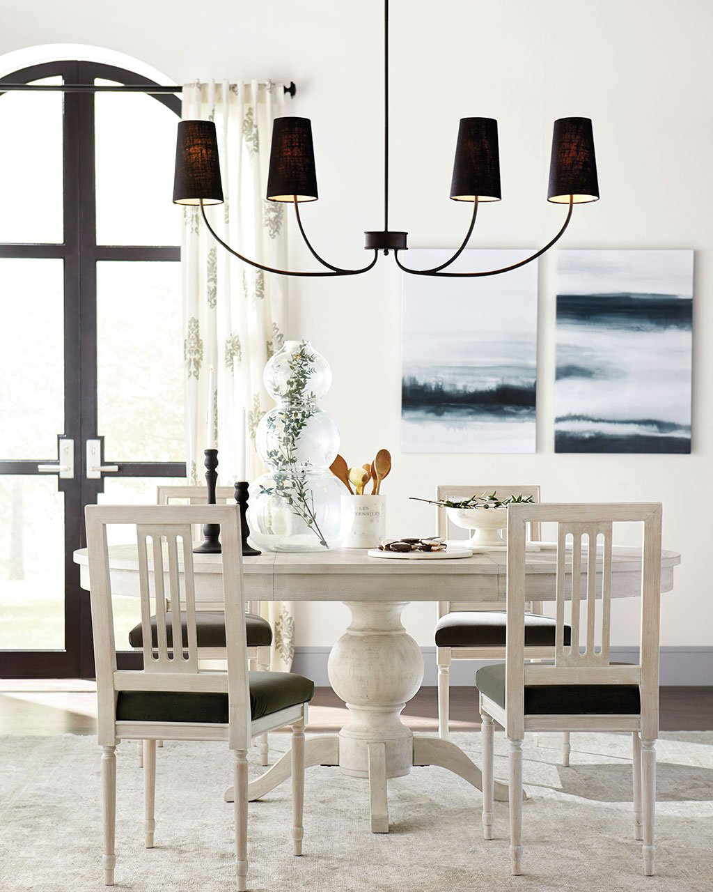 How to Select the Right Size Dining Room Chandelier | How to ...
