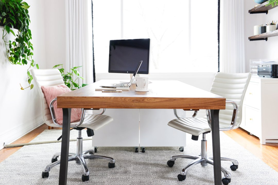 How To Organize Your Office how to organize your office | crate and barrel